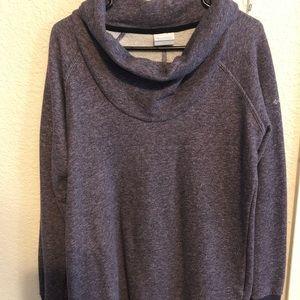 Purple women sweater